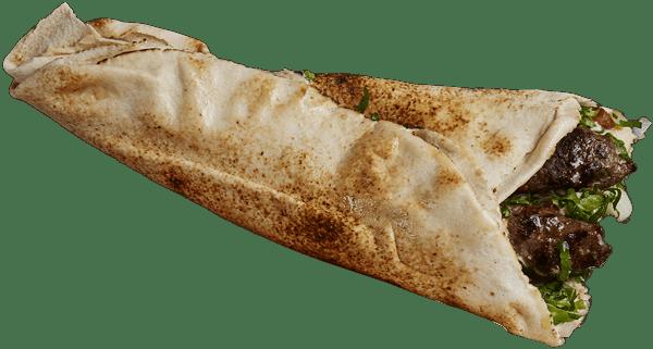 Char-Grilled Skewer Kafta Wrap
