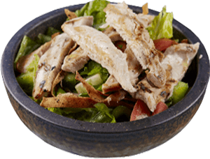 Grilled Chicken Fatoush