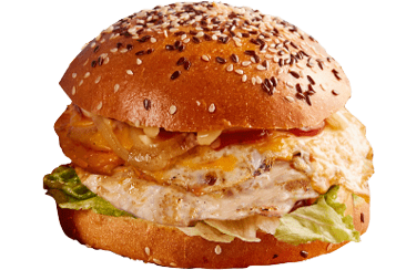 The Ultimate Chicken Burger