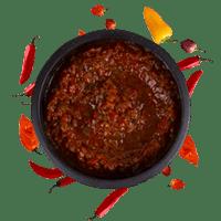 Sheesh spicy salsa dip