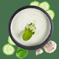 Sheesh yoghurt cucumber dip